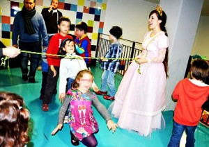 children's party entertainers in Madrid themed parties